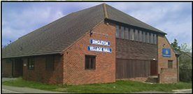 Singleton village hall hire