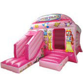 Princess Bouncy Castle Combi